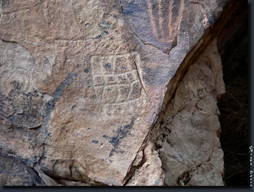 Petroglyph photo 12, Parowan Gap